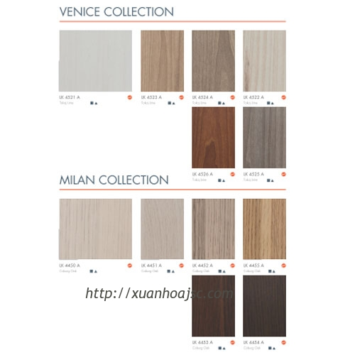 Laminate Mầu Gỗ 2 (Laminate Wood Grains 2)