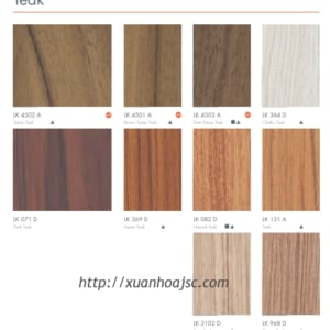 Laminate Mầu Gỗ 7 (Laminate Wood Grains 7)